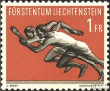 Liechtenstein 345 neuf avec gomme originale 1956 Sports