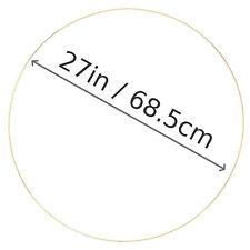 "27"" X Large metal gold ring hoop cake stand wedding nursery wreath tree of life"