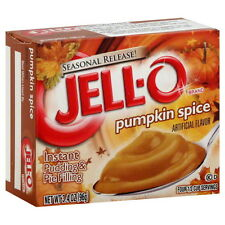 Jell-O Pumpkin Spice Instant Pudding & Pie Filling 3.4 oz (96 g)