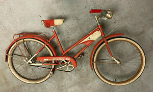 Columbia 1957 Fire Arrow Bendix 2-speed, matching seat/pedals Vintage