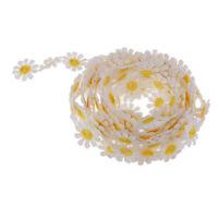 3 Yards Daisy Venice Applique Lace Flower Sewing Trim Craft Ribbon DIY Dress