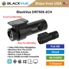 [In Stock] BlackVue 2 Channel DR750X-2CH Full HD WiFi GPS 32GB Dashcam