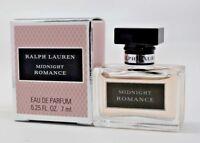 Midnight Romance By Ralph Lauren 0.25 oz/7 ml EDP Splash Mini Women New In Box