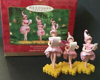 "1999 Hallmark Keepsake ""The Lullaby League"" Wizard of Oz Christmas 3pc Ornament"