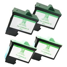 4 PACK LXM16 26 Ink Cartridges for Lexmark Z 13 23 25 34 35 515 600 602 Printers
