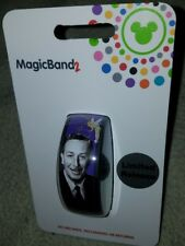 NEW Disney Parks Magic Band Walt Disney Autograph Signature Purple Tinkerbell