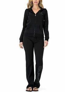 BCBG MAXAZRIA, Sequin Detail Hoodie & Pant Set BC13736J/P Black