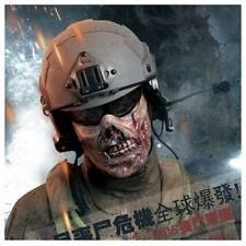 Army Dead Zombie Skull Half-face Corpse Airsoft Paintball Tactical Protect Mask