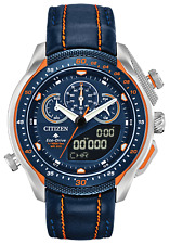 Citizen Eco Drive ProMaster SST Blue Dial Leather Band Men's Watch JW0139-05L