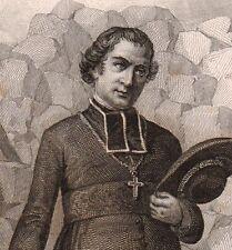 Portrait XIXe Denys Auguste Affre Saint-Rome-de-Tarn Aveyron archevêque de Paris
