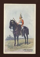 Military LIFE GUARDS Gale & Polden c1920/30s? PPC