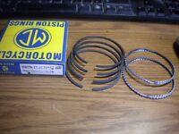 NOS Norton Atlas Commando 750 Twin Piston Rings Ring Set 73mm .75 mm +030