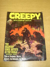 CREEPY #2 FN (6.0) APRIL 1965 WARREN HORROR MAGAZINE (B)