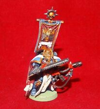 Warhammer 40k Space Marine Captain With Combi-Melta And Chainsword Plastic OOP