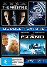 The Island / The Prestige (Scarlett Johanssen) NEW (Region 4 Australia)