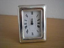 STERLING SILBER 925 TABLE WATCH CLOCK * 1020 / 6x9 GER new