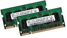 2x 1GB 2GB RAM SAMSUNG Speicher ASUS ASmobile A6 Notebook A6F DDR2 667 Mhz