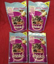 Whiskas Kitten Milky Treats 4x 55g Rich In Milk Supports Bones 8+ Wk Old Calcium