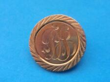 "LOVE TOKEN ON 1912 $5 INDIAN GOLD COIN w/ CLASP - INITIALS ""DJ"" ?"