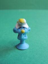 Schtroumpf peintre Micro Popz figurine Micropopz stikeez Super U 2017 Smurf