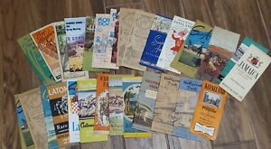 Large Collection / Lot of 50 Vintage Horse Racing Programs - 1930s, 1940s, more!