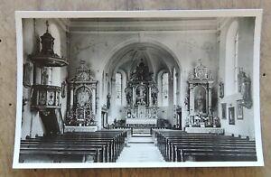 orig. AK Pfarrkirche St.Pankratius Grafentraubach Straubing ungel.