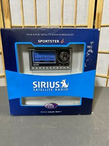 Sirius Sportster 4 For Sirius Car Satellite Radio Receiver And Remote ONLY!