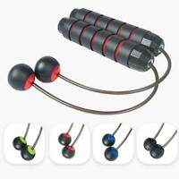 Wireless Ropeless Jump Ropes Adjustables Cordless Skipping Weighted Fitness O2P2