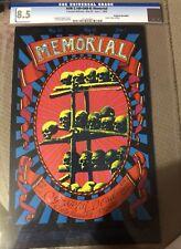 RARE Memorial Handbill Alton Kelley Grateful Dead AOR 2.160-OHB-B:MEMORIAL CGC