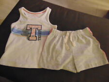 M&S Pyjamas Tatty Teddy Me To You 2 Part Short Set 10-11y 146cm White Mix BNWT
