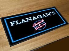 Flanagans Cocktails & Dreams movie inspied cocktail bar mat beer runner