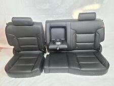 2014-2018 Chevrolet Silverado 1500 2500 3500 Crew Cab Rear Leather Seat OEM