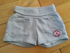 CONVERSE GIRLS ALL STAR SHORTS GREY SIZE AGE 4-5 YEARS 104-110CM 2 PAIRS