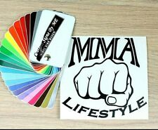 MMA LIFESTYLE Sticker JDM Vinyl Decal Adhesive Car Wall Window Bumper Laptop BLC