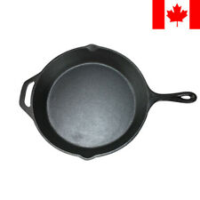 CAST IRON Non-Stick Frying Griddle Pan Barbecue Grill Fry BBQ Skillet Kitchen