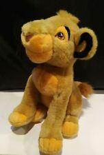 "Simba Plush Disneyland Walt Disney World Stuffed Animal Lion King 14"""