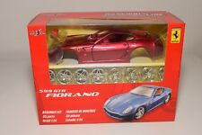 V 1:24 MAISTO METAL KIT FERRARI 599 GTB FIORANO METALLIC RED MINT BOXED