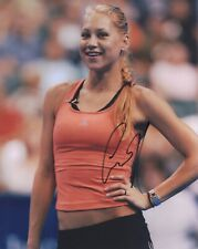 ANNA KOURNIKOVA HAND SIGNED 8x10 COLOR PHOTO+COA          GORGEOUS+SEXY POSE