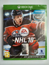 NHL 18 Microsoft Xbox One Brand New Factory Sealed