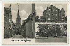 Stotzheim 3 Bilder Tabak Schreibwaren Krieger um 1950