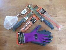 Ready2Fish 2 Fillet Knifes, 1 MiniNet, 1 Stringer 1 Hook Remover, Pair Of Gloves