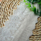 Embroidered Lace Trim Arc Edge Ribbon For Wedding Bridal Dress Sewing Crafts