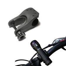 BIKE CYCLE BICYCLE LIGHT FRONT TORCH LED FLASHLIGHT MOUNT BRACKET CLIP HOLDER UK