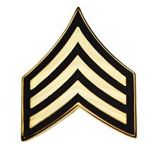Us Army Sergeant E-5 Rank Stripes Hat or Lapel Pin Hon14426 D2