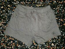 BABY BOYS Sz 000 brown TARGET shorts CUTE! COOL! ELASTIC WAIST!