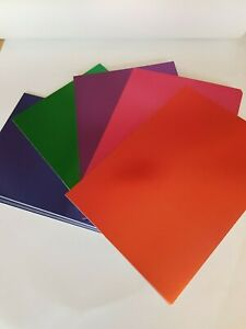 Card Stock Mirrored in A4, A5 & A6  Xmas Colours Red/Purple/Green/Blue/Pink