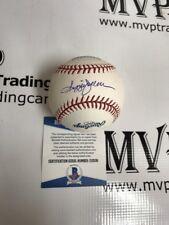 REGGIE JACKSON Authentic Autograph Official ML Rawlings HOF Baseball NY YANKEES