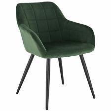 Esszimmerstuhl Küchenstühle Wohnzimmerstuhl Stuhl aus Samt Grün bh93dgn