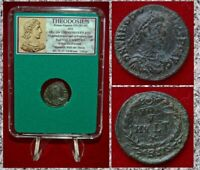 Ancient Roman Empire Coin Of THEODOSIUS Wreath On Reverse VOT X  MVLT XX