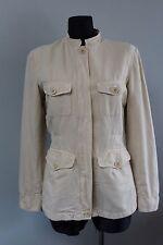 MAX MARA Weekend Vintage Women`s Jacket Size EU 38 / UK 10 Cotton & Linen 8&